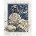 Bucilla Sentiments Counted Cross Stitch Kit, 11-Inch by 14-Inch, My Mother My Friend - Thumbnail 0