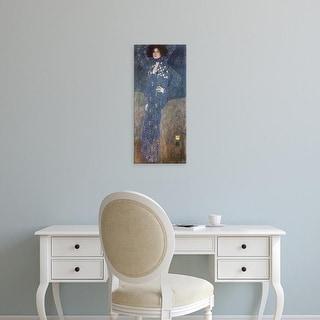 Easy Art Prints Gustav Klimt's 'Emilie Floge' Premium Canvas Art