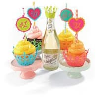Cupcake Wrappers - Sizzix Thinlits Dies 7/Pkg By Where Women Cook