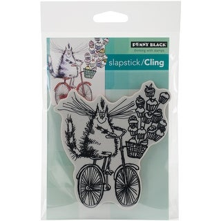 "Penny Black Cling Stamp 5""X7""-Sweet Delivery"