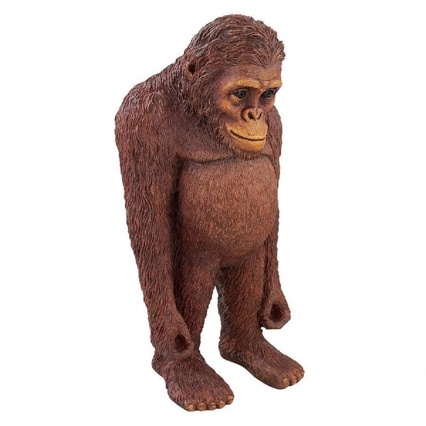 "24"" Standing Orangutan Outdoor Garden Statue - N/A"