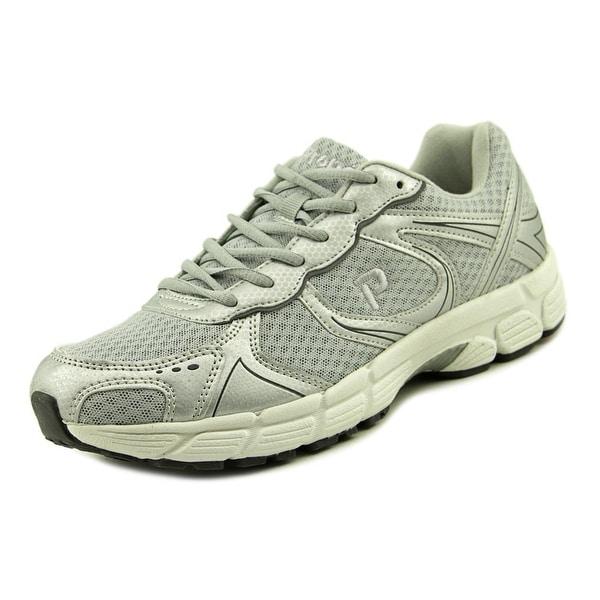 Propet XV550 Men Round Toe Synthetic Gray Trail Running