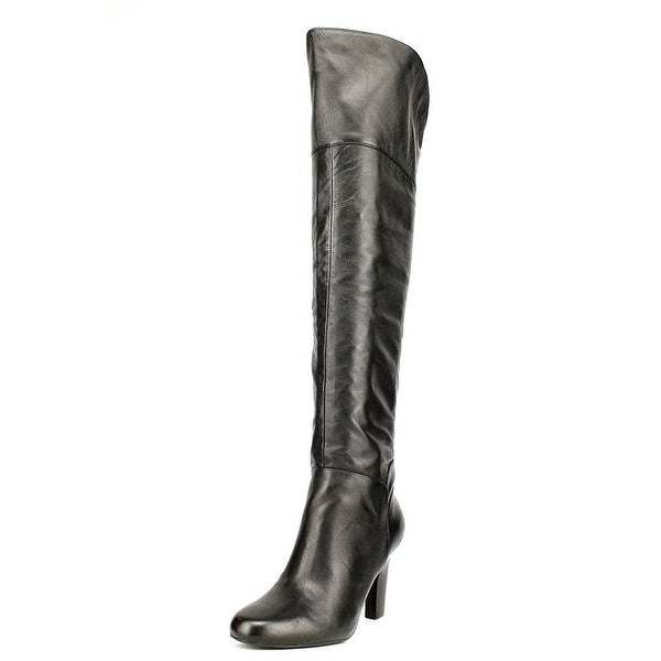GUESS Womens RUMELA Closed Toe Knee High Fashion Boots - 5
