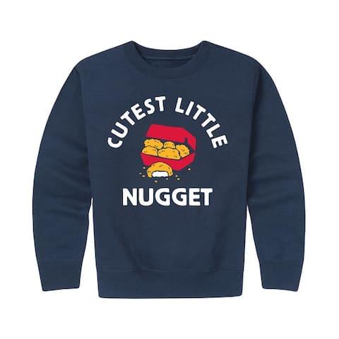 Cutest Little Nugget - Kids Crew Fleece