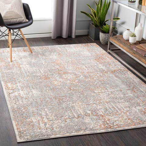 Sanai Abstract Dots Area Rug