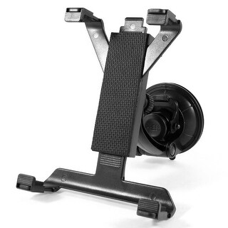 Adjustable Angle 360 Degree Suction Mount Stand Holder Black for Tablet GPS DVD
