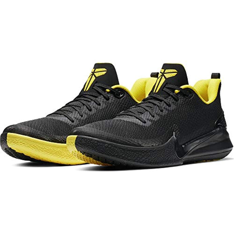 Nike Men'S Kobe Mamba Rage Basketball Shoe Black/Anthracite/Opti Yellow  Size 12 M Us