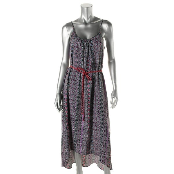 Sanctuary Womens Casual Dress Printed Hi-Low