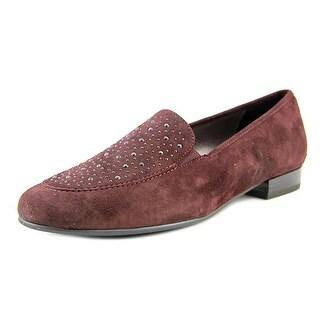 Ara Kendall Women Round Toe Suede Purple Flats