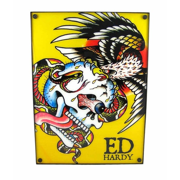 Shop Licensed Ed Hardy `Battle` Light Box Dorm Decor