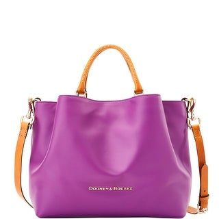 Dooney & Bourke City Large Barlow (Introduced by Dooney & Bourke at $368 in Sep 2016) - Purple