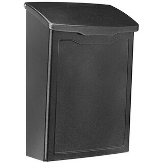 Architectural Mailboxes 2681P Marina Mailbox, Pewter