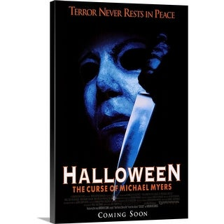 """""""Halloween 6 The Curse of Michael Myers (1995)"""" Canvas Wall Art"""