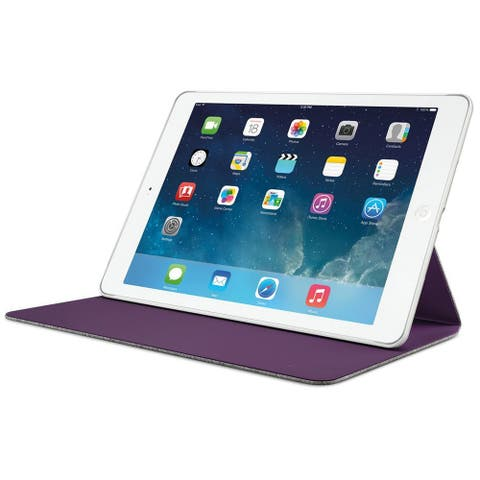 Logitech Hinge Flexible Case with Any-Angle Stand for iPad Air - Gray
