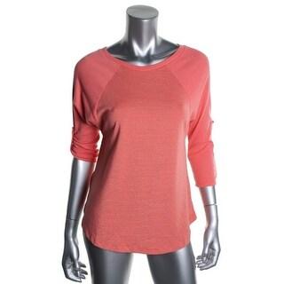 Splendid Womens Modal Blend Striped Sleep Shirt - S