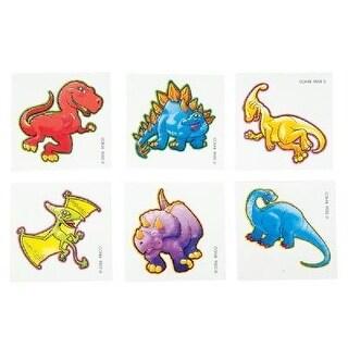 "Rhode Island Novelty 2"" Cute Dinosaur Tattoo Childrens Temporary"