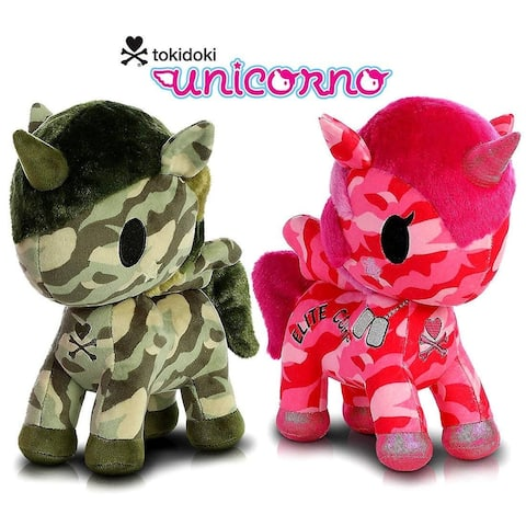"Aurora Tokidoki Sgt. Rumble Special Edition 11"" and G.I. Jane Special Edition 11"" Plush"