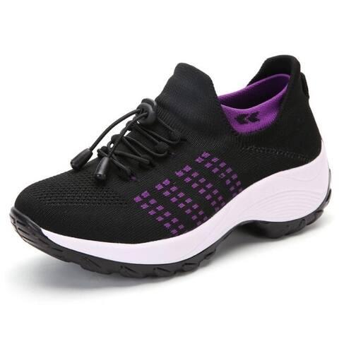 Women Walking Shoes Sock Sneakers