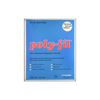 Fairfield Fiber Poly Fil 10lb Box