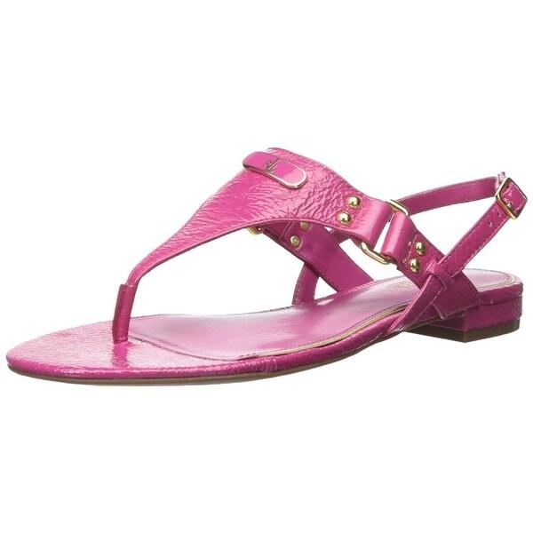 Ralph Lauren Womens valinda Open Toe Casual Slide Sandals - 8.5