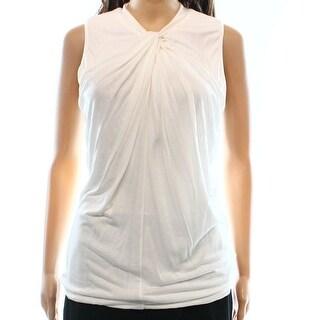 Lauren Ralph Lauren NEW White Ivory Women's Size Large L Tank Blouse
