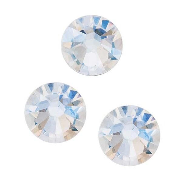 Swarovski Elements Crystal Round Flatback Rhinestone SS30 6.5mm 25 Pc Crystal Moonlight