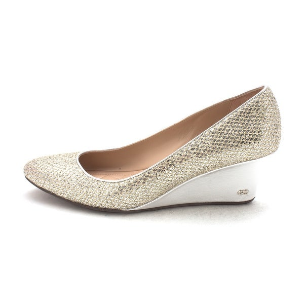 Cole Haan Womens Aliciasam Closed Toe Wedge Pumps - 6