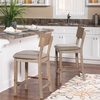 Link to Loren Grey Wash Counter Stool Similar Items in Dining Room & Bar Furniture