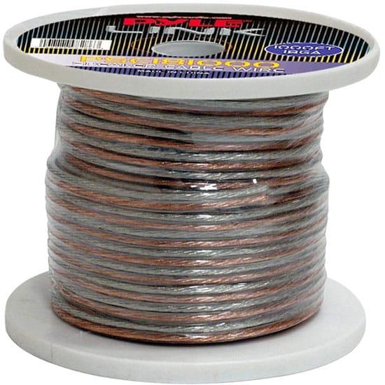 18 Gauge 1000 ft. Spool of High Quality Speaker Zip Wire