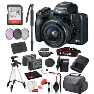 Link to Canon EOS M50 Mirrorless Digital Camera with 15-45mm Lens  (Black) Similar Items in Digital Cameras