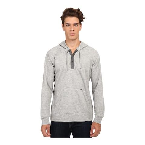 O'Neill Mens Paradise Pullover Hoodie Sweatshirt, Grey, Small