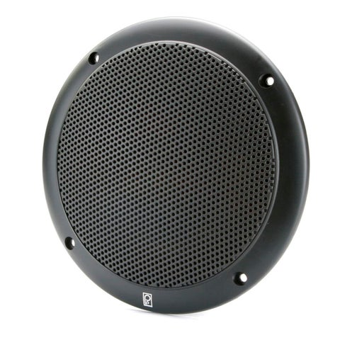 "PolyPlanar 4"" 2-Way Coax Integral Grill Marine Speaker, Pair"