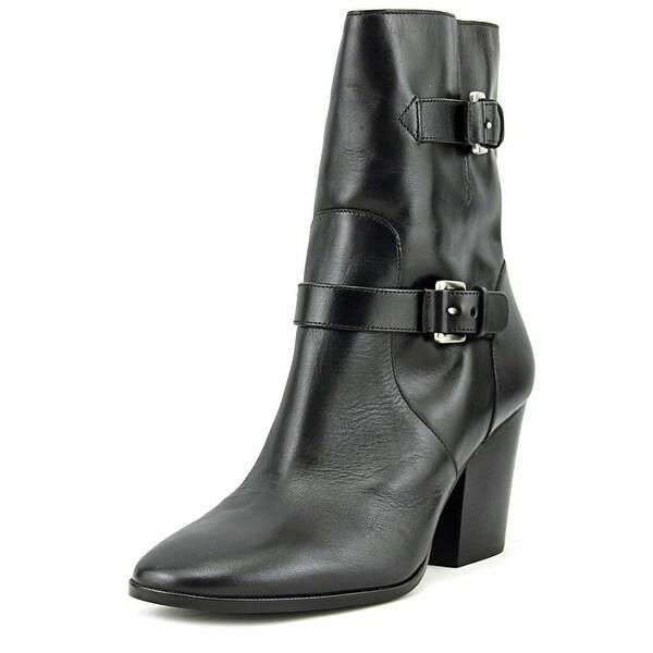 Michael Michael Kors Ashton Mid Bootie Women Black Boots