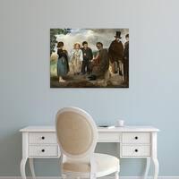 Easy Art Prints 's 'The Old Musician, 1862' Premium Canvas Art