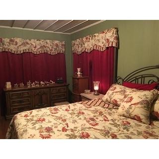 Waverly Charleston Chirp Cotton Quilt Set