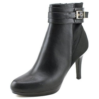 Alfani Radden2 Women  Round Toe Synthetic Black Ankle Boot