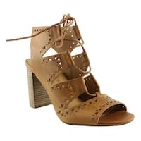 Lucky Brand Womens Lk-Tafia-211 Brown Sandals Size 8