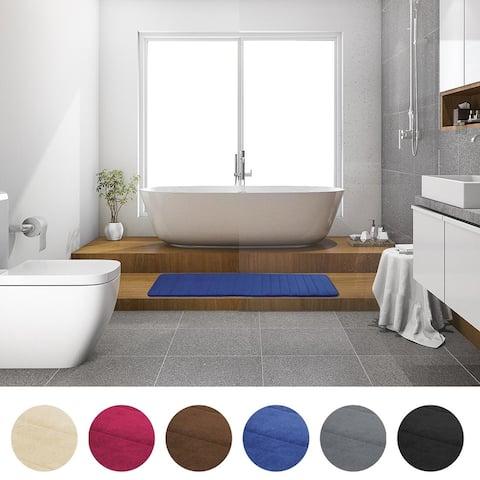 Absorbent Non-Slip Memory Foam Bath Tub Mat