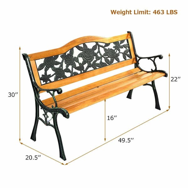 Garden Bench Porch Path Chair Furniture