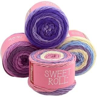Sweet Roll Yarn-Grape Swirl
