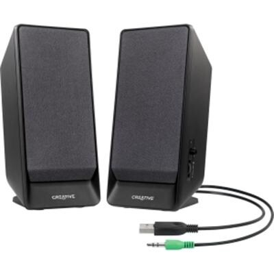 Creative Labs 51Mf1675aa002 Sbs Series A50 2.0 Speaker System, Desktop - Black
