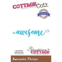"Cottagecutz Expressions Plus Die-Awesome 3.8""X.8"""