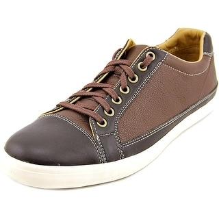 Cole Haan Jax Snkr.Cap.II Men Cap Toe Leather Brown Oxford