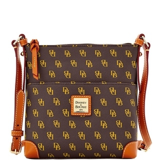 Dooney & Bourke Gretta Letter Carrier (Introduced by Dooney & Bourke at $168 in Aug 2013) - brown tmoro