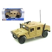 Humvee Military Sand 1/27 Diecast Model Car by Maisto