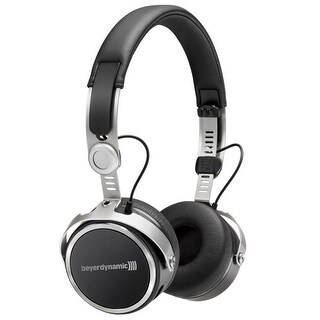 Aventho Wireless Mobile Bluetooth Headphones with Sound Personalization (Black)