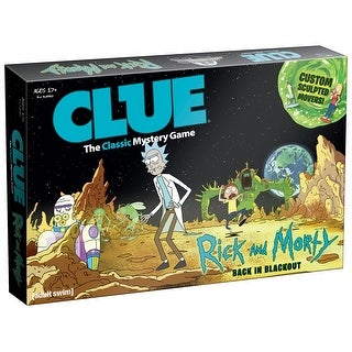 Rick and Morty Clue Board Game - multi