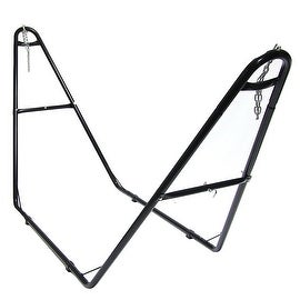Sunnydaze Universal Multi-Use Steel Hammock Stand, Fits Hammocks 9 to 14 Feet Lo