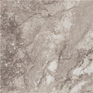 A8006 Peel N Stick Tile 18 In. X 18 In. White And Grey