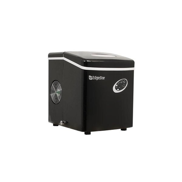 EdgeStar IP210 12 Inch Wide 2.5 Lbs. Capacity Portable Ice Maker with 28 Lbs. Daily Ice Production